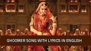 Ghoomer Song Lyrics Meaning In English - YouTube