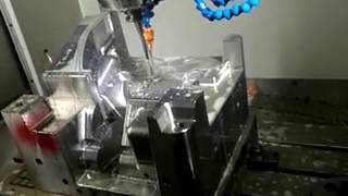 CNC machining for mold and die, high speed CNC milling