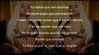 Paloma Mami   Fingías  Letra   Lyrics Oficial