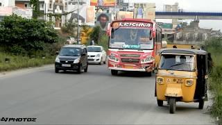 Kerala private bus KRISHNA LIMITED STOP