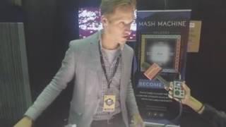 Mash Machine backstage MTV Awards 2016 Rotterdam