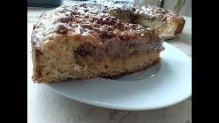 Ореховый пирог, это чудо рецепт никого не оставит равнодушным!