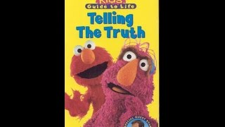 Opening To Sesame Street:Telling The Truth 1997 VHS