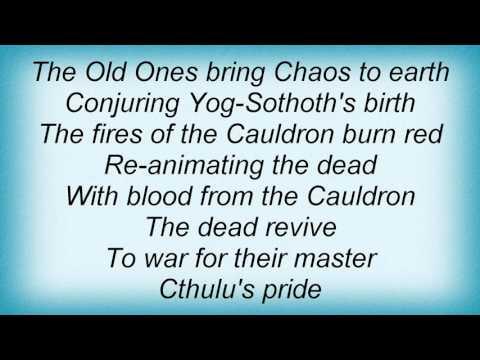 Manilla Road - Black Cauldron Lyrics