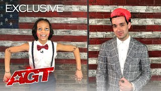 Noah Epps & Brett Loudermilk Talk About What Happened On The AGT Stage! - America's Got Talent 2020