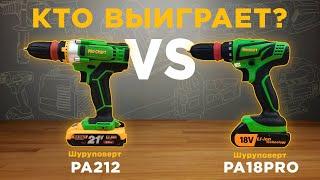 Шуруповерт Procraft PA212
