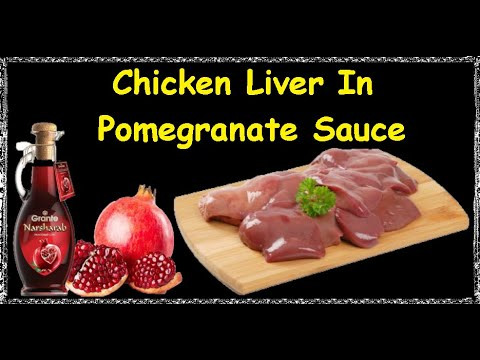 Chicken Liver In Pomegranate Sauce / Book of recipes / Bon Appetit