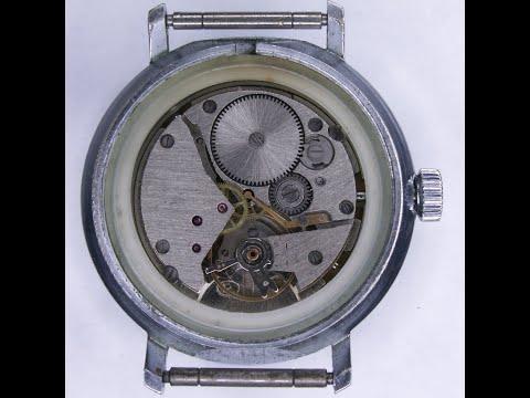 Ремонт механических часов Восток 2414, разборка