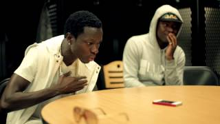Michael Blackson and Jay IDK work on skits for Sex Drugs And Homework