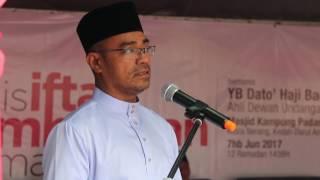 Sorotan Video Majlis Iftar dan Sumbangan Ramadan DUN Kuala Nerang