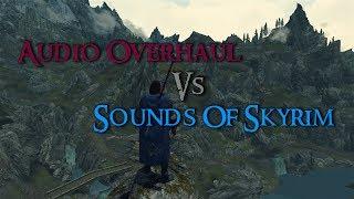 Skyrim Mod Comparison - Audio Overhaul For Skyrim Vs. Sounds Of Skyrim