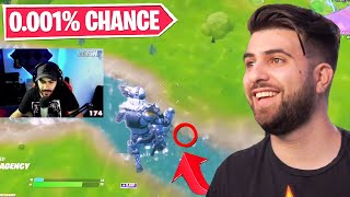 Reacting to the UNLUCKIEST Fortnite Moments...