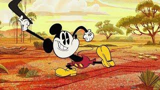 Outback At Ya! | A Mickey Mouse Cartoon | Disney Shorts