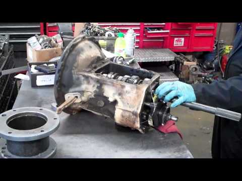Toyota T100 Rear Axle Wheel Bearing Carrier Spring mount repair MAKEOVER