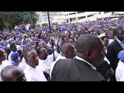 Video: Zim Anglicans return to Harare cathedral