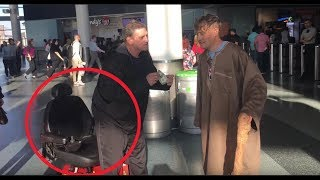 Nastiest Troll (In Real Life) Heckles Magician From Wheelchair & Fakes Disability