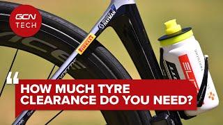 De quel dégagement de pneu avez-vous vraiment besoin?   Clinique technique GCN #AskGCNTech