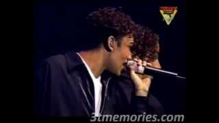 "3T performing ""24/7"" live on the Brotherhood Tour"