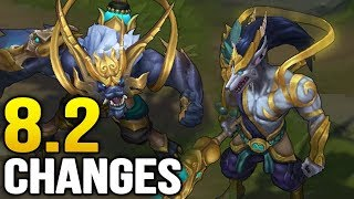 Big changes coming soon in Patch 8.2 (League of Legends)
