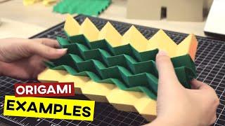 Origami Strukturen & Beispiele
