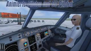 VideoImage1 Urlaubsflug Simulator - Holiday Flight Simulator
