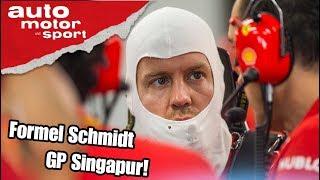 Was läuft bei Vettel & Ferrari schief? Formel Schmidt zum GP Singapur | auto motor und sport