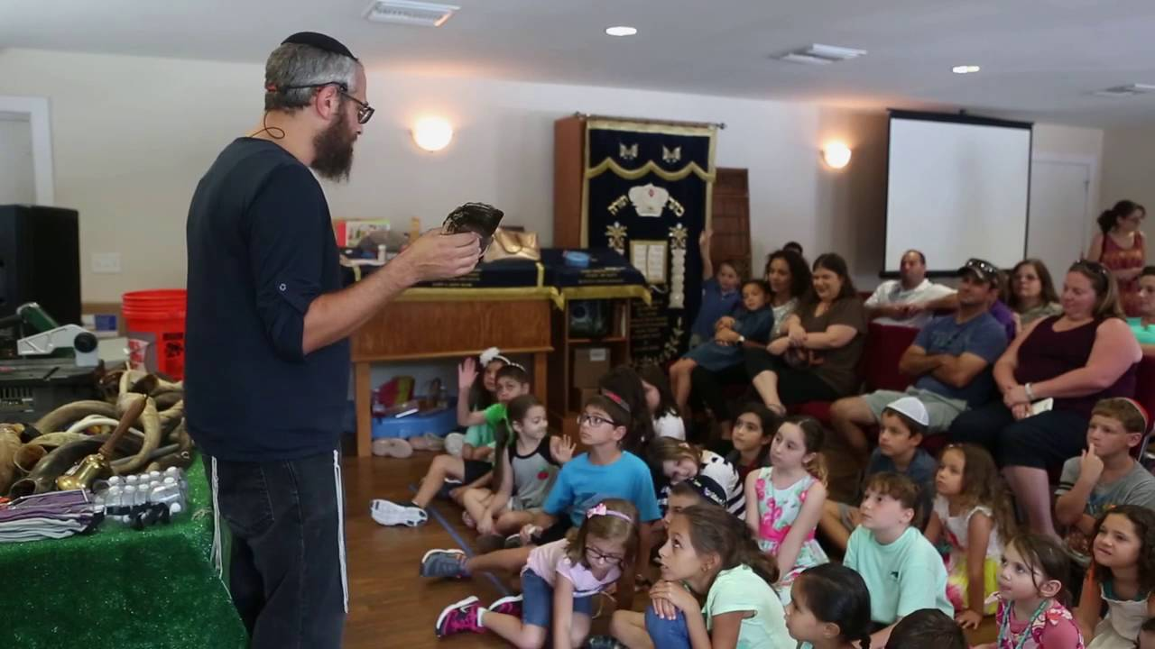 At The Sound Of The Shofar