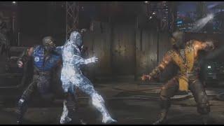 Скорпион против Саб Зеро/Scorpion vs. Sub Zero/Mortal Kombat X All Fatalities & Brutalities