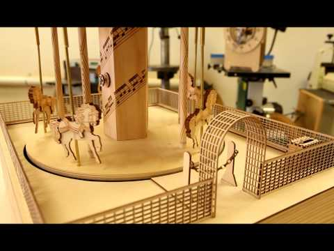 Laser Cut Merry Go Round by Doug Green