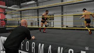 WWE 2K16: 1 Hour of My Career Video Gameplay
