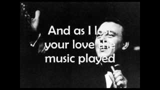 Matt Monro - The Music Played (lyrics)