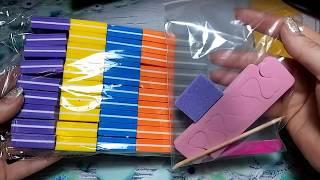 Распаковка посылок для ногтевого сервиса с АЛИЭКСПРЕСС / ALIExpress 2 часть