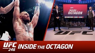 In this episode John and Dan breakdown the highly anticipated return of the 'Notorious' Conor McGregor, who meets UFC superstar Donald 'Cowboy' Cerrone, in the blockbuster main event in Las Vegas.  The Octagon welcomes back McGregor after a 15-month hiatus. The former 2 division champion looks to prove once again, just why he is the biggest draw in the game. However, this isn't Cowboy's first rodeo under the bright lights. A relentless competitor with a never say die attitude, Cerrone boasts an unrivalled UFC finishing record knows he has the firepower to take out the Irishman. The legions of fans can expect fireworks as we kick-off 2020 with bang.   Subscribe to get all the latest UFC content: http://bit.ly/2uJRzRR  Experience UFC live with UFC FIGHT PASS, the digital subscription service of the UFC. Visit https://ufcfightpass.com/  To order UFC Pay-Per-Views, visit http://welcome.ufcfightpass.com/#PPV   Connect with UFC online and on Social: Website: http://www.ufc.com Twitter: http://www.twitter.com/ufc Facebook: http://www.facebook.com/ufc Instagram: http://www.instagram.com/ufc Snapchat: UFC Periscope: http://Periscope.tv/ufc  Connect with UFC FIGHT PASS on Social: Twitter: http://www.twitter.com/ufcfightpass Facebook: http://www.facebook.com/ufcfightpass Instagram: http://www.instagram.com/ufcfightpass
