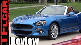 2017 Fiat 124 Spider & 124 Abarth Sneak Peek Review: Does Fiat + Miata = Fiata?