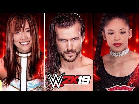 WWE 2K19 Official Roster All Superstars Confirmed So Far