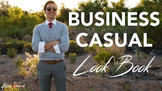 Mens Business Casual: 3 Killer Outfits To Wear To Work 😎
