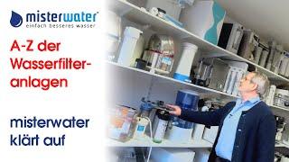 Wasserfilteranlagen im Test (2021) - Welche Anlage ist die Beste?