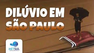 Especial - Por que choveu tanto na cidade de São Paulo?