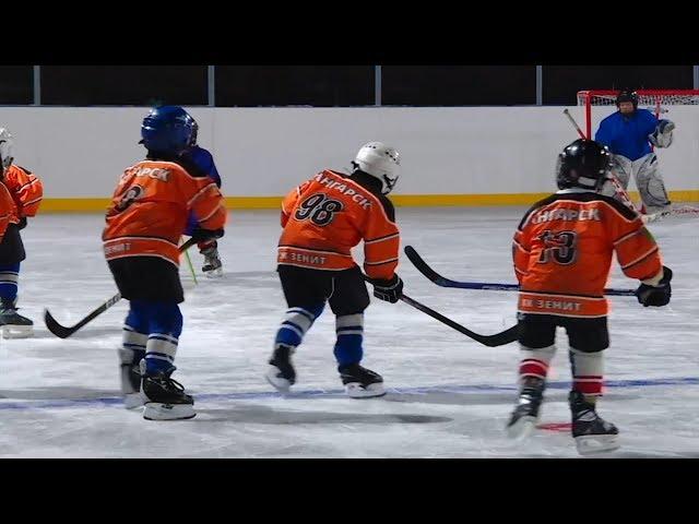 Простор для юных хоккеистов