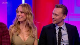 Том Хиддлстон, The One Show - Tom Hiddleston, Brie Larson, Samuel L Jackson - About Marvel