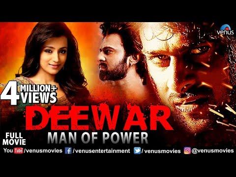 Deewar Man Of Power | Hindi Dubbed Movies | Prabhas | Trisha Krishnan | Hindi Action Movies