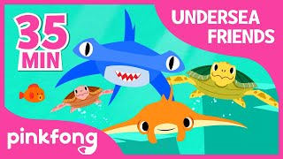 Doo doo doo Shark and more | +Compilation | Pinkfong Songs for Children