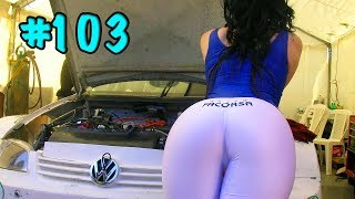 CAR CRASHES IN AMERICA. BAD DRIVERS USA AND CANADA | Crazy Drivers Car Crashes #103