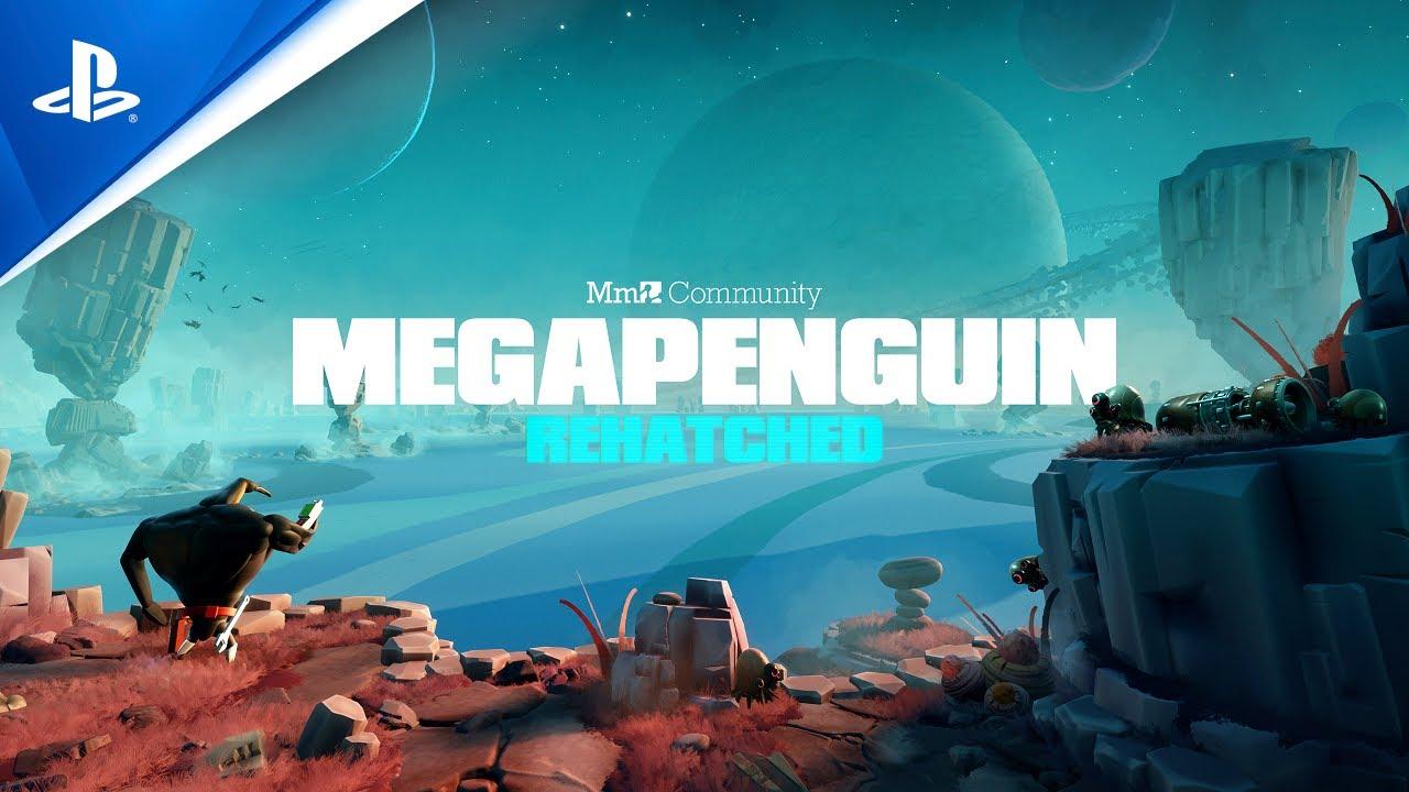 Megapenguin: Rehatched es la nueva y divertida aventura hecha por la comunidad de Dreams