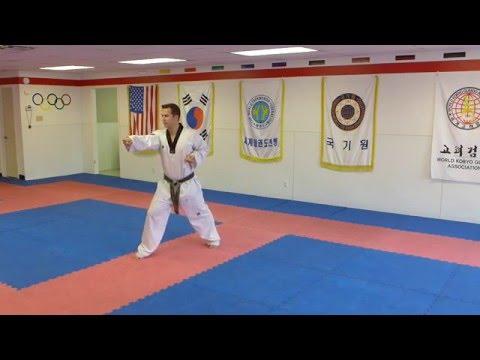 Taekwondo Forms Poomsae Ilyo - 9th Degree Black Belt Form