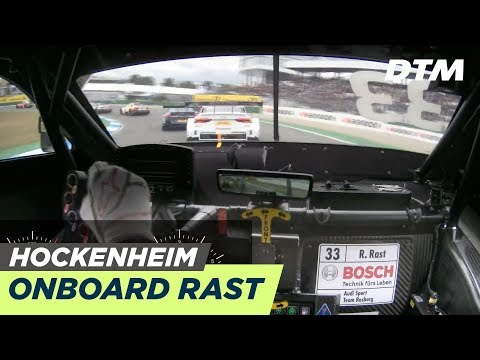 DTM Hockenheim 2019 - René Rast (Audi RS 5 DTM) - RE-LIVE Onboard (Race 2)
