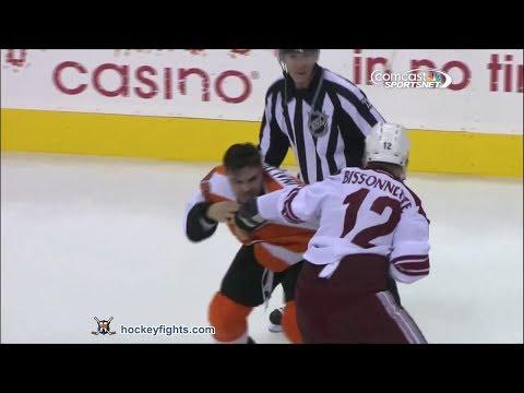 Paul Bissonnette vs Zac Rinaldo