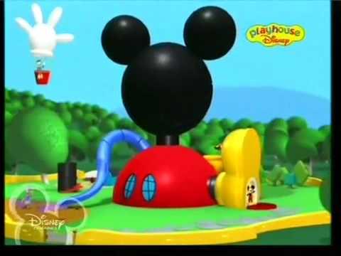 Cantecele - Clubul lui mickey mouse intro