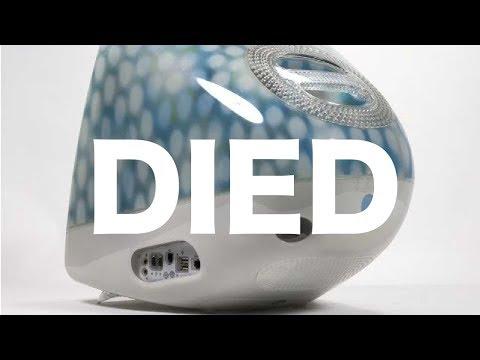 Apple iMac G3 Blue Dalmatian Died
