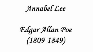 Annabel Lee by Edgar Allan Poe (read by Tom O'Bedlam)
